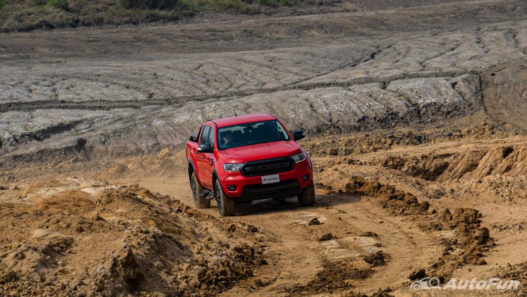 2021 Ford Ranger FX4 MAX Exterior 048