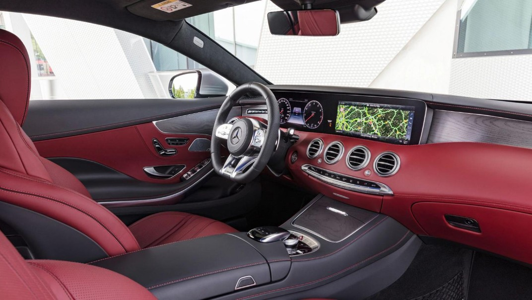 Mercedes-Benz S-Class Coupe 2020 Interior 002