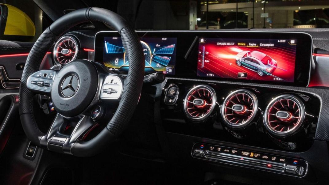 Mercedes-Benz CLA-Class Public 2020 Interior 006