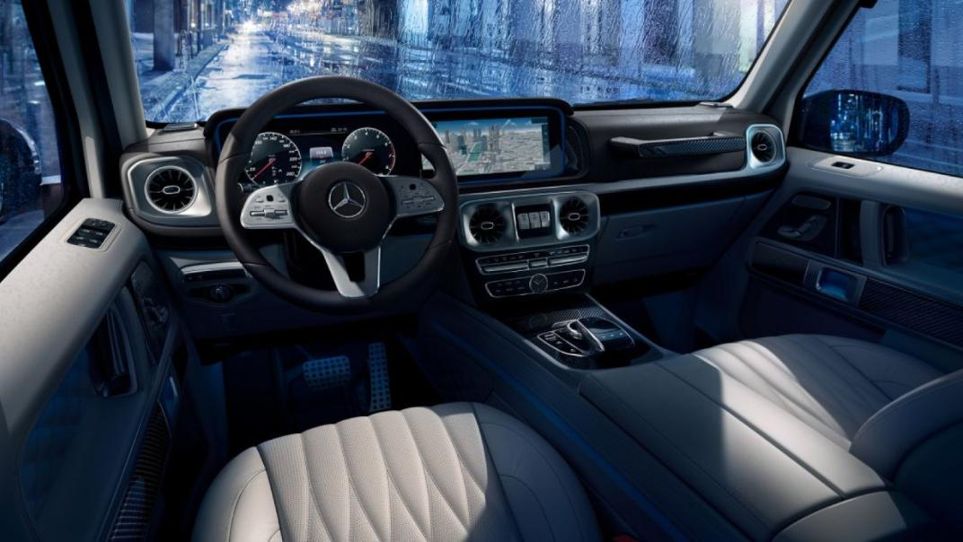 Mercedes-Benz G-Class 2020 Interior 012