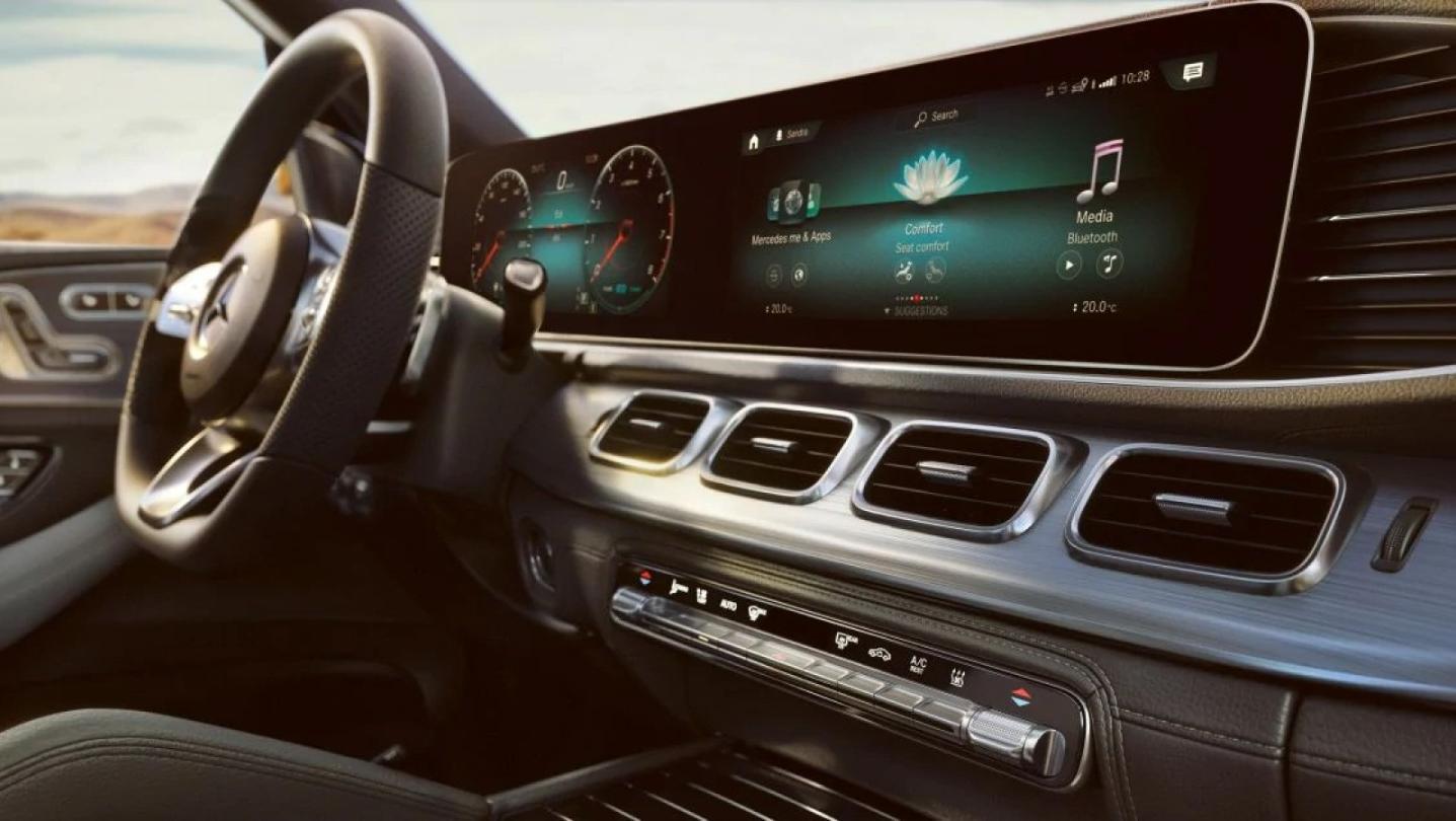 Mercedes-Benz GLE-Class 2020 Interior 016