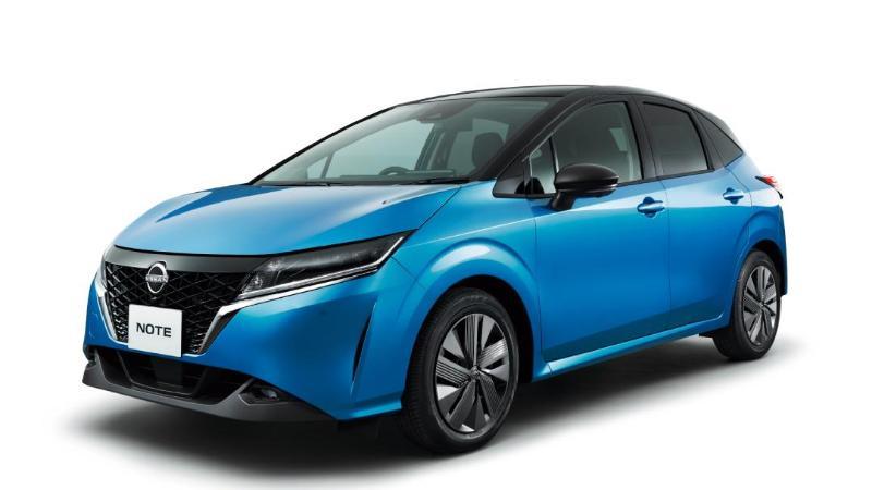 2021 Nissan Note e-Power เพิ่ม AWD มอเตอร์คู่ พร้อมออพชั่นเบาะหันออกตัวรถ 02