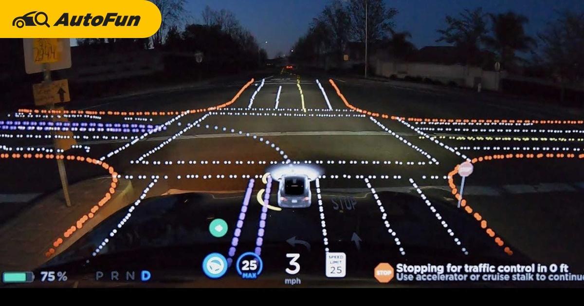 Tesla โดนวิจารณ์อย่างหลักเรื่องการทดสอบสินค้าเวอร์ชั่นเบต้าบนถนนหลวง 01