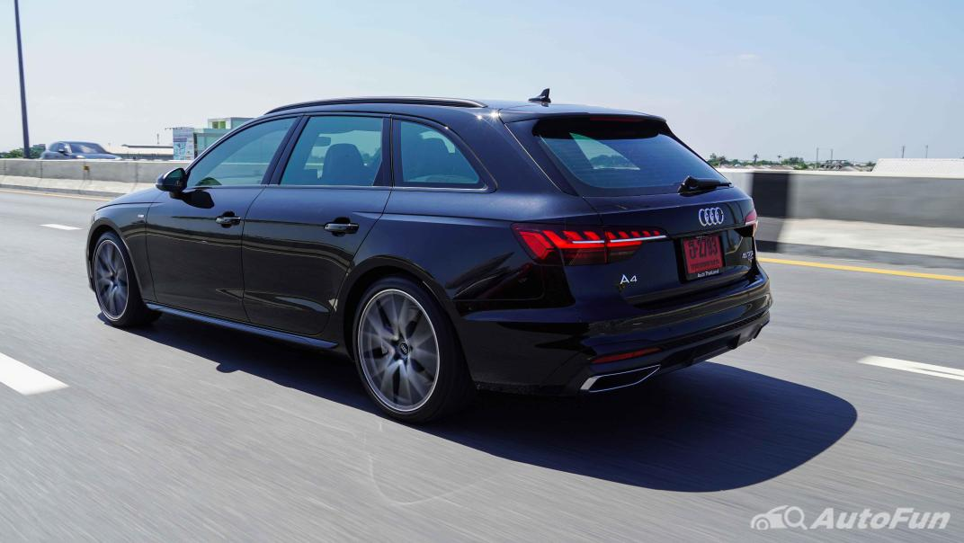2020 Audi A4 Avant 2.0 45 TFSI Quattro S Line Black Edition Exterior 053