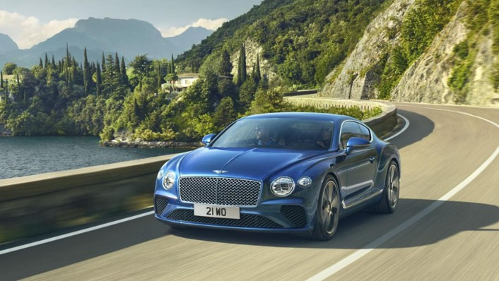 Bentley Continental-GT Public 2020 Exterior 001