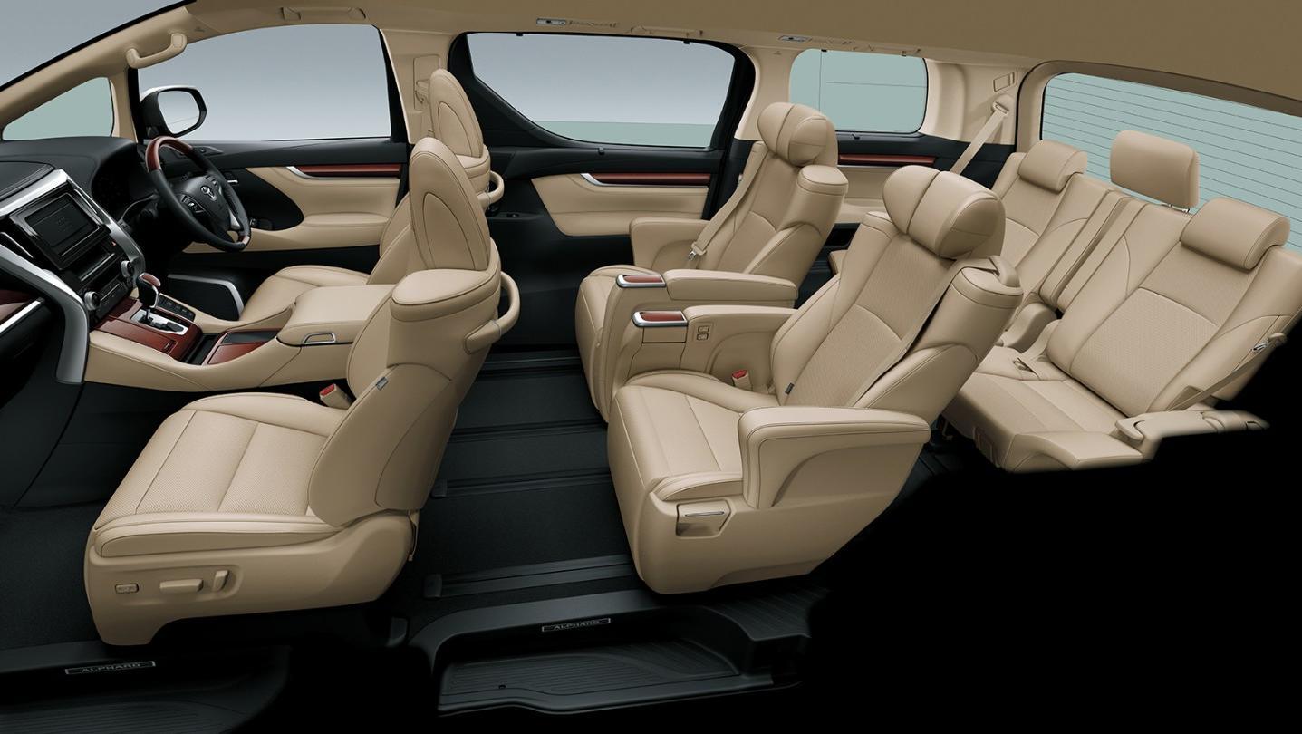 Toyota Alphard 2020 Interior 009