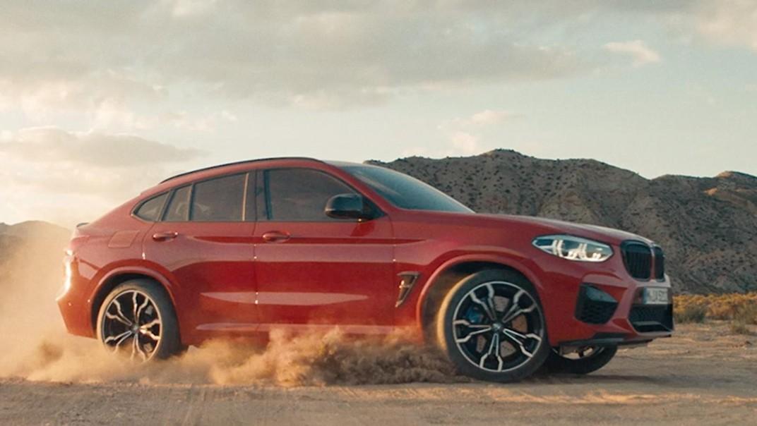 BMW X4-M 2020 Exterior 015
