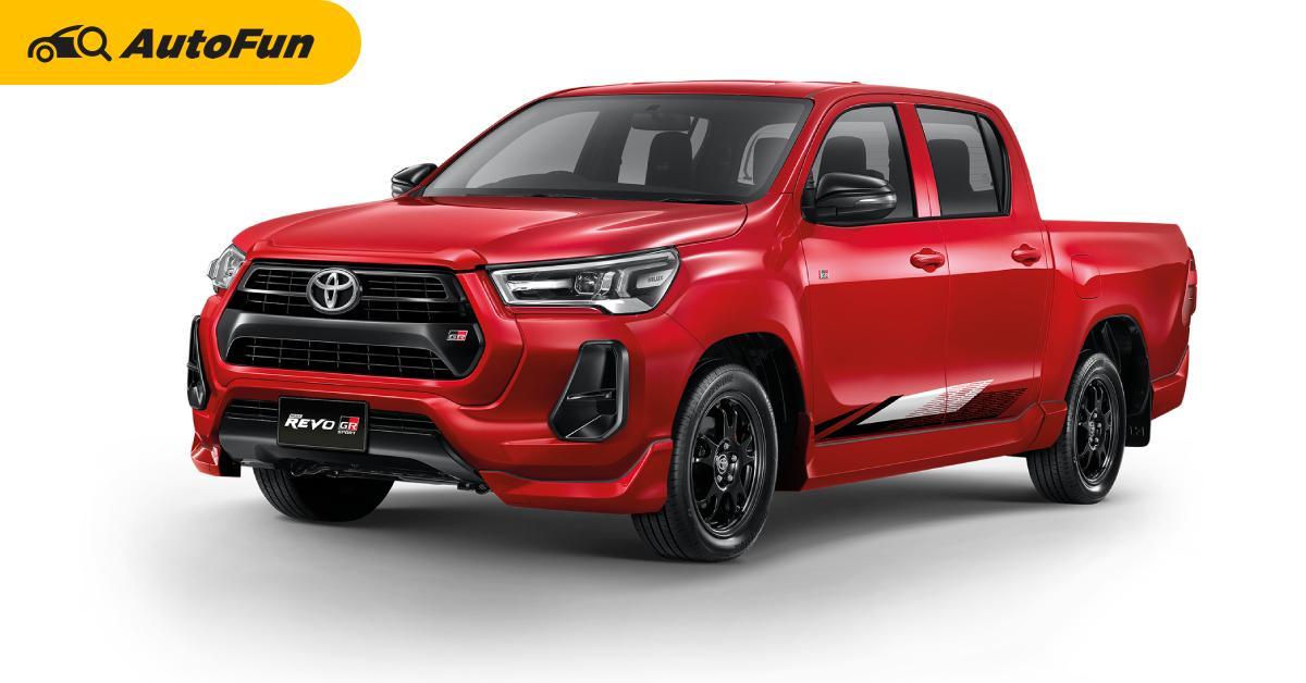 2021 Toyota Hilux Revo Z-edition มีคนบ่นว่า ล้อเล็กเกินไป แต่คนซื้อจริงเขาไม่สนเรื่องนี้หรอกนะ 01