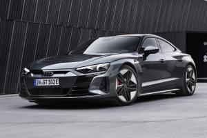 เปิดตัว 2021 Audi RS e-tron GT ราคา 6.39 ล้านบาท สเปคนำเข้าฝาแฝด Taycan