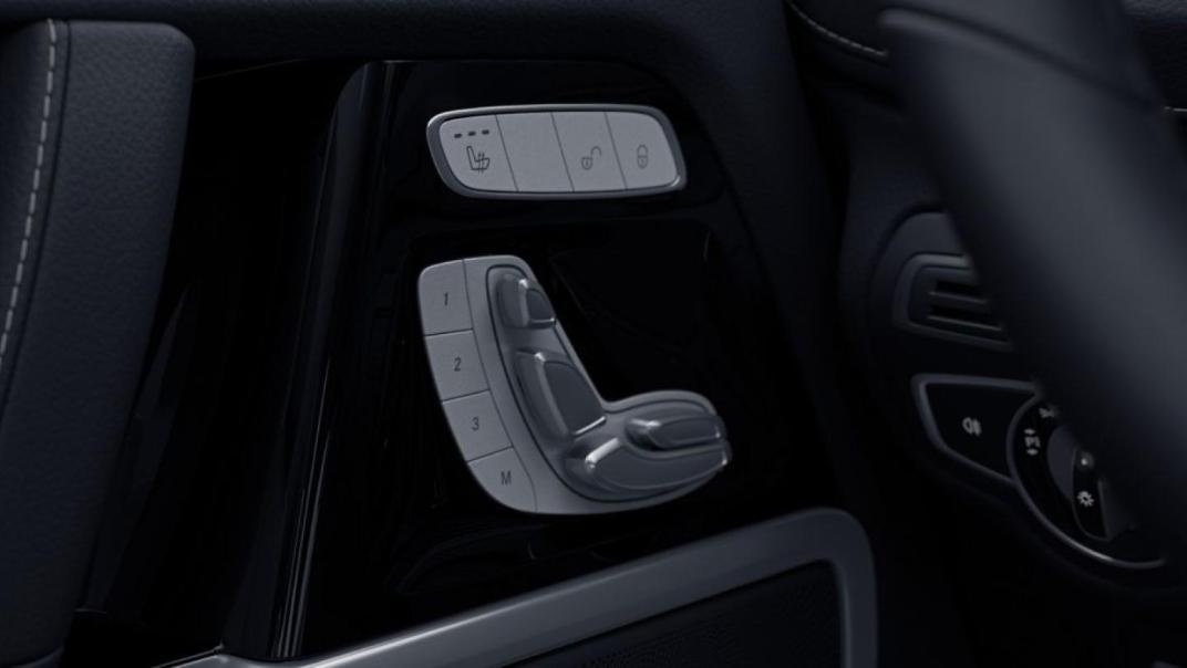 Mercedes-Benz G-Class Public 2020 Interior 007