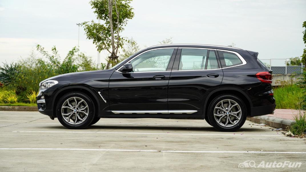 2020 2.0 BMW X3 xDrive20d M Sport Exterior 008