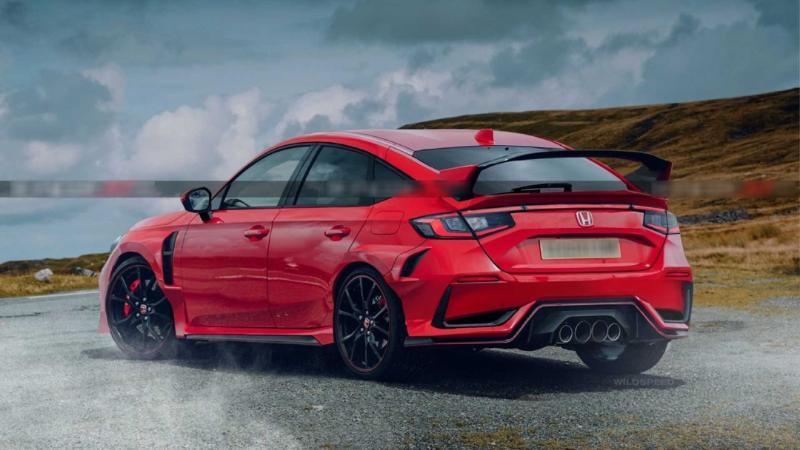 2022 Honda Civic เตรียมผลิต Type R มีเกียร์ธรรมดาเช่นเดิม แต่บอกลาตัวถังคูเป้เรียบร้อย 02