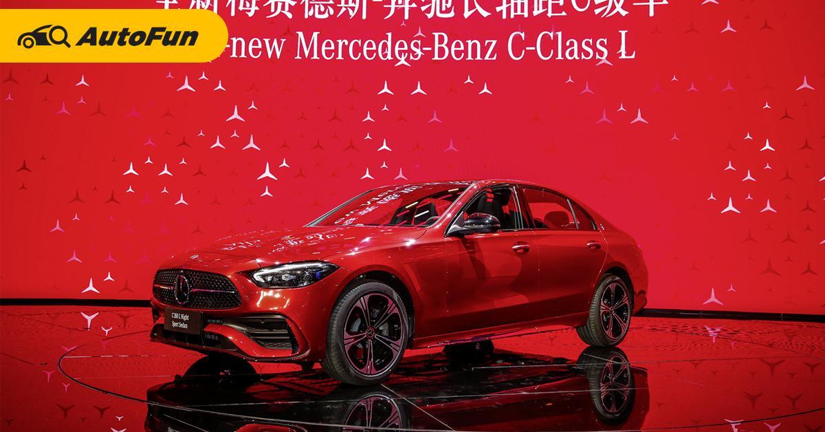 2022 Mercedes-Benz C-Class L ยาวขึ้น สบายกว่าเดิม ฟัด BMW 330 Li 01