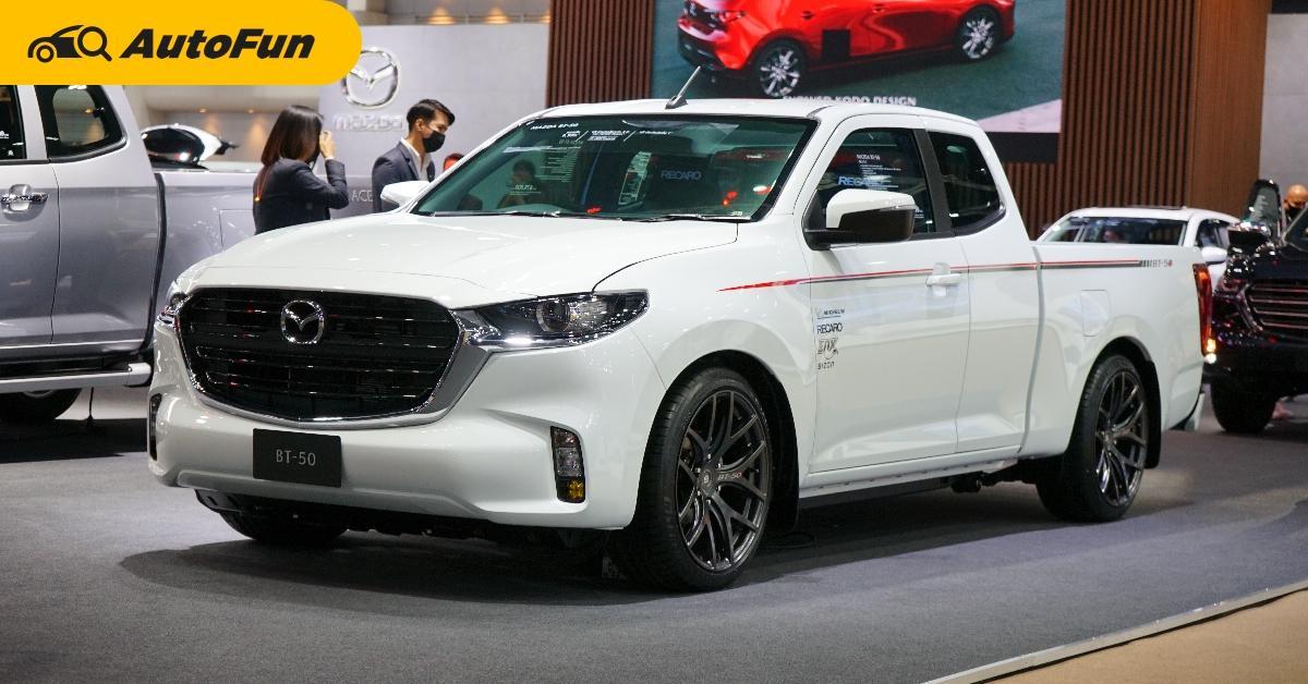 ชมคันจริง 2021 Mazda BT-50 RS โหลดเตี้ยแต่งซิ่ง ของแท้ทั้งคัน ด้วยไอเดียจากรถแข่ง 01