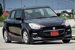 2021 Suzuki Swift GL Plus สปอร์ตเร้าใจไม่ต้องแต่งเพิ่ม ปราดเปรียว คล่องแคล่ว คุ้มราคาค่าตัว 5.67 แสนบาท
