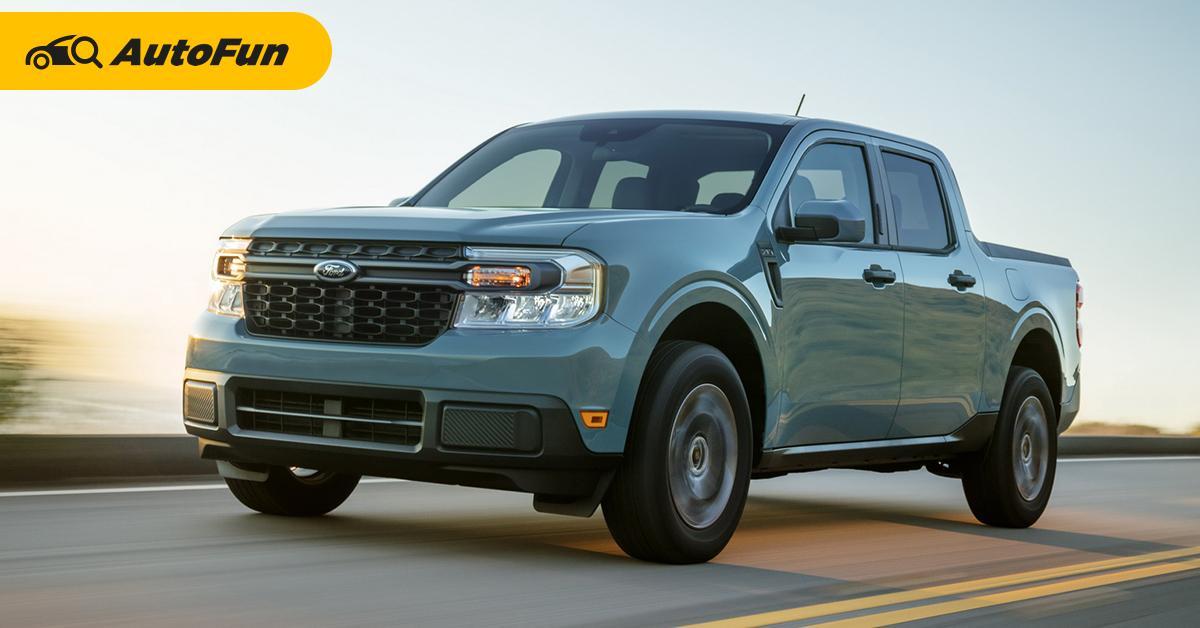 พาชม 2022 Ford Maverick เตรียมพบหน้าตาแบบนี้กับ 2022 Ford Ranger ใหม่ 01