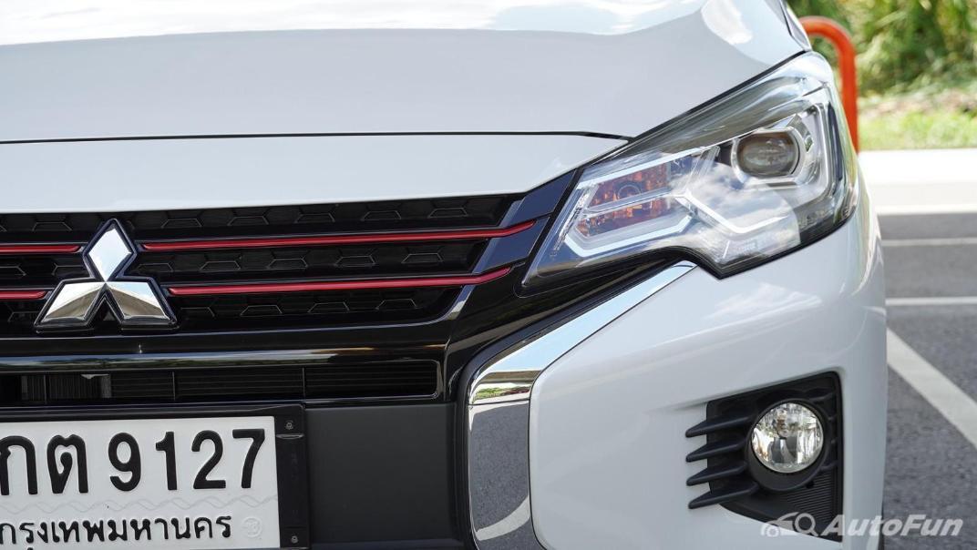 2020 1.2 Mitsubishi Attrage GLS-LTD CVT Exterior 026