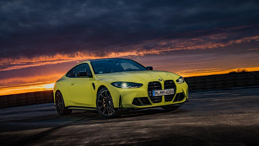 2021 BMW M4 Coupe Competition Exterior 010