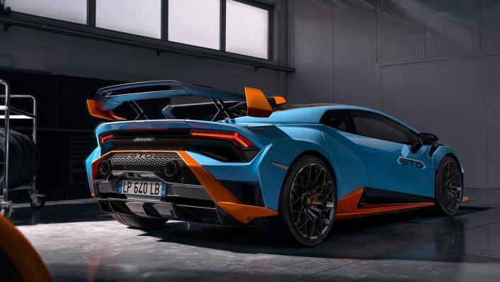 2021 Lamborghini Huracan STO Exterior 006