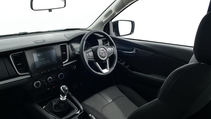 2021 Mazda BT-50 Freestyle cab Upcoming Version Interior 002