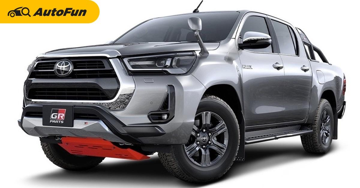 Toyota เตรียมปล่อยชุดแต่ง GR เสริมความ off road ให้กับ Hilux ใหม่ในญี่ปุ่น 01