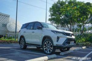 ส่องค่าบำรุง 2021 Toyota Fortuner ฟรีเช็คระยะ 5 ปีไม่เกิน 30,000 บาท