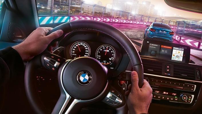 BMW M2-Coupe Public 2020 Interior 002