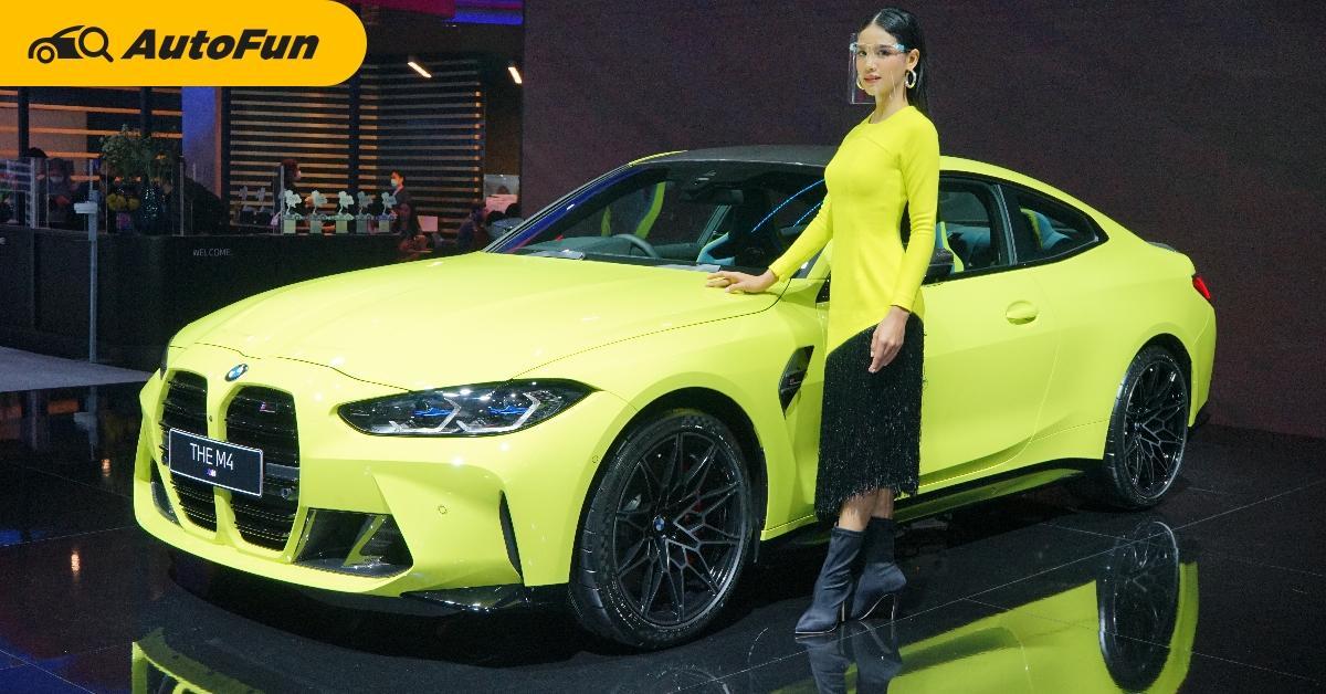 2021 BMW M4 ไอ้จมูกโตขายไทย 10 ล้านบาทมีทอน หรือจะซื้อ BMW M850i แทนดีนะ? 01