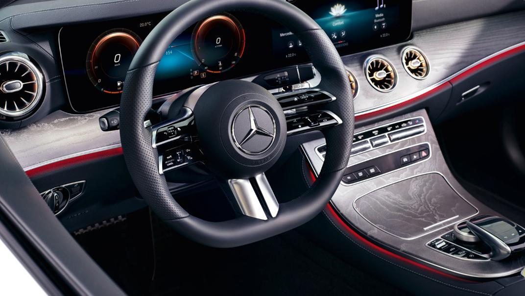 2021 Mercedes-Benz E-Class Cabriolet E 200 AMG Dynamic Interior 001