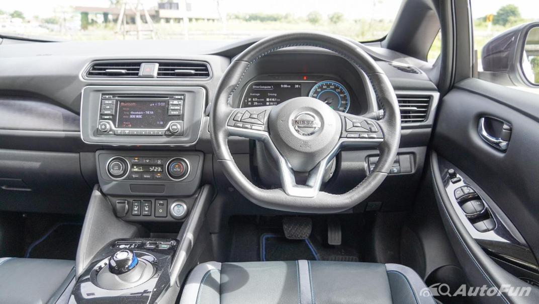 2020 Nissan Leaf Electric Interior 002