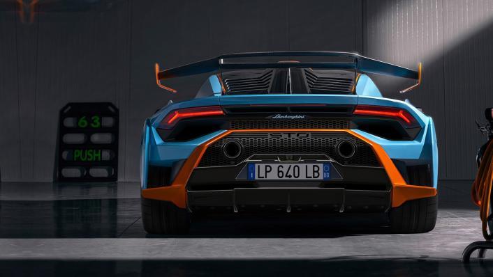 2021 Lamborghini Huracan STO Exterior 007