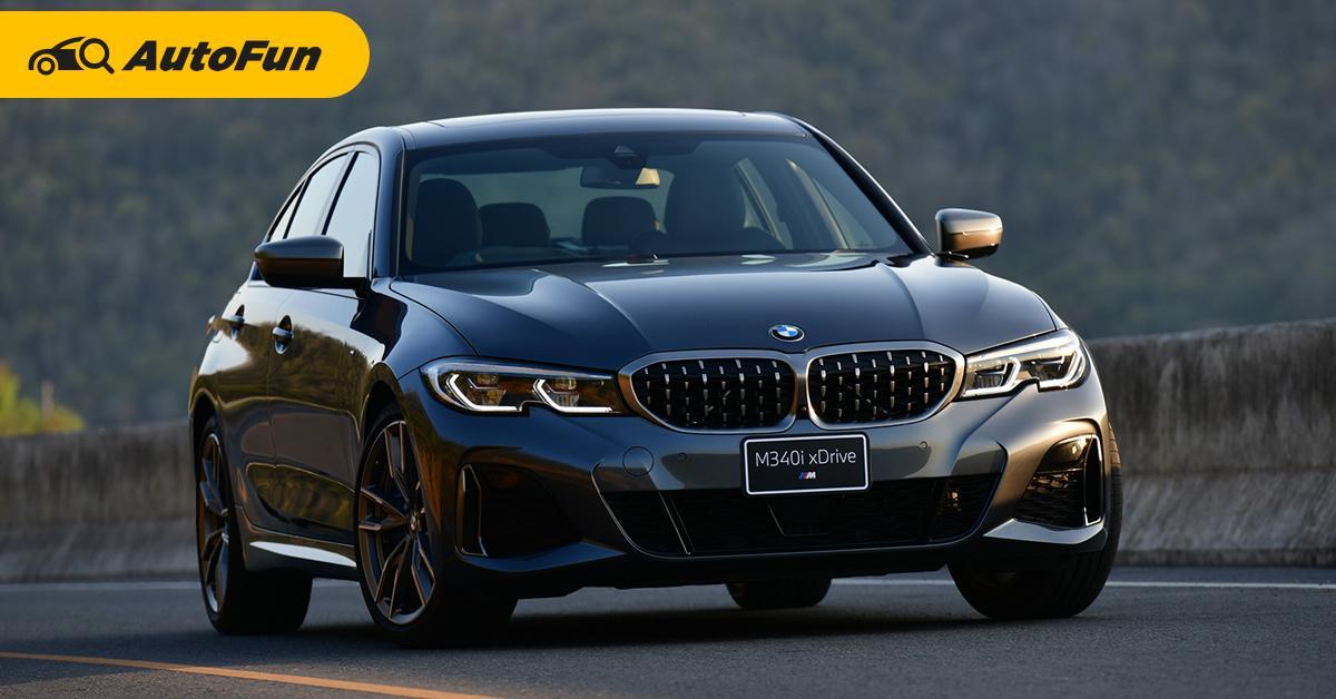 2021 BMW M340i xDrive รุ่นประกอบไทยเคาะแล้ว 3.999 ล้านบาท แรงขนาดไหนมาชมกัน 01