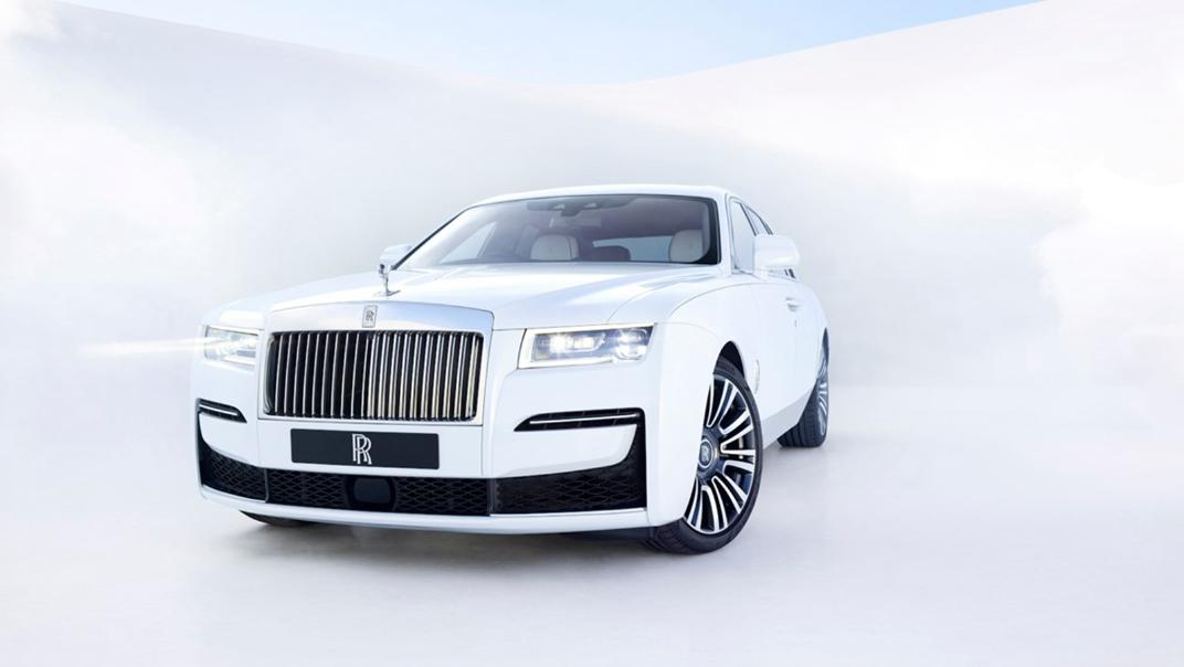 2021 Rolls-Royce Ghost Extended Exterior 001