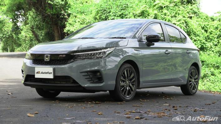 2021 Honda City Hatchback e:HEV RS Exterior 001