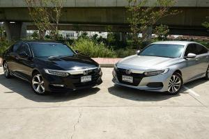 Full review: Honda Accord ลองขับทั้งไฮบริดและเทอร์โบ ราคารถต่างกัน 3 แสนกว่า น่าเพิ่มเงินหรือไม่ ?