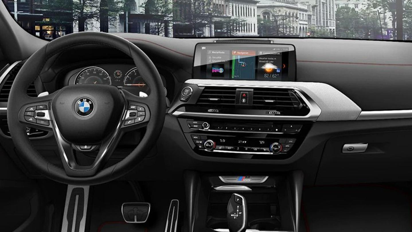 BMW X4 2020 Interior 001