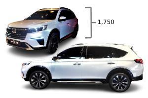2022 Honda N7X เผยข้อมูลตัวถัง สูงและยาวกว่า BR-V คาดราคาเริ่ม 7.6 แสนบาท