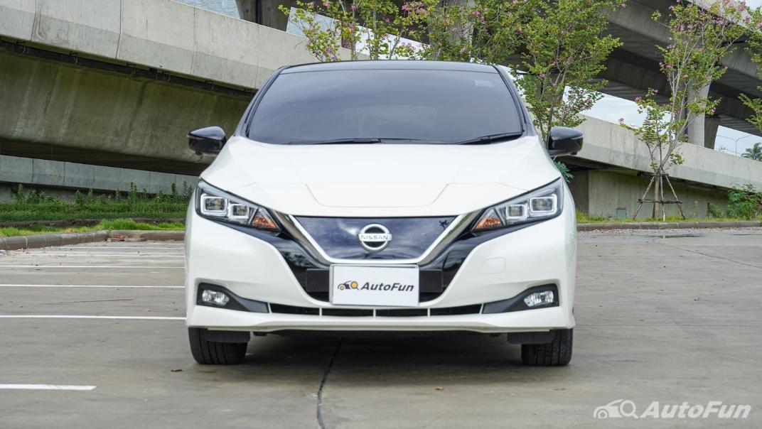2020 Nissan Leaf Electric Exterior 002