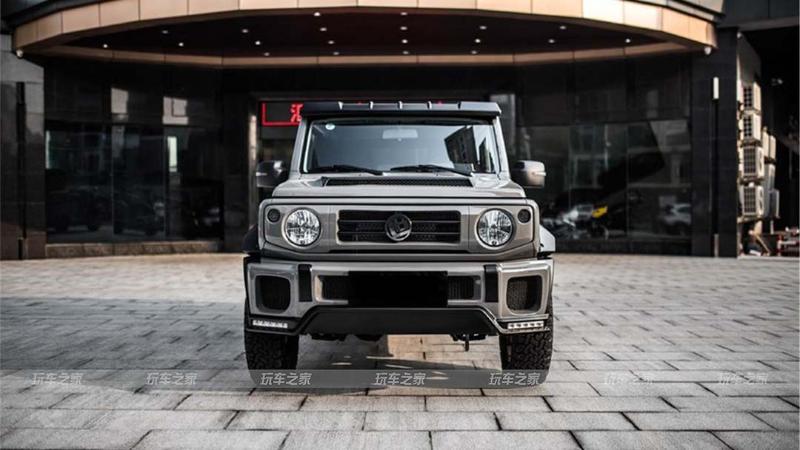 พาชมรถแต่งสุดเท่ : สำนักแต่งจากจีนจับ 2020 Suzuki Jimny สวมชุดแต่ง LB เพิ่มความดุดัน 02