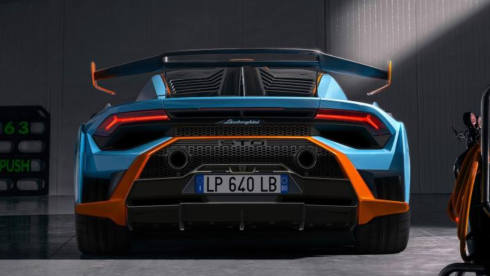 2021 Lamborghini Huracan STO Exterior 008