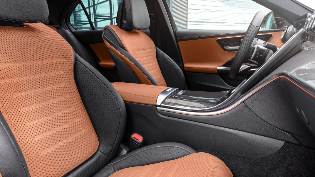 2021 Mercedes-Benz C-Class W206 Upcoming Version Interior 009