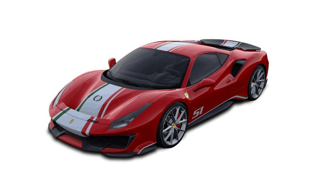 2020 Ferrari 488 Pista 3.9 V8 Exterior 003