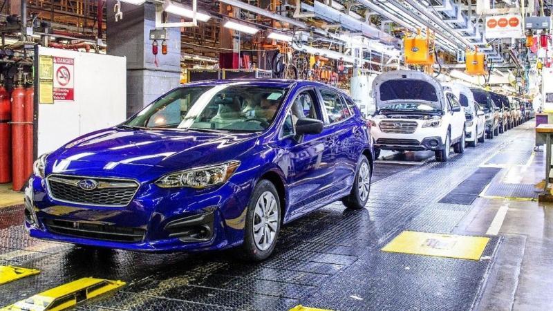 Subaru เตรียมปิดโรงงานอย่างน้อยครึ่งเดือนเซ่นเซมิคอนดัคเตอร์ขาดแคลน 02