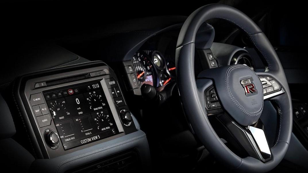 Nissan GT-R 2020 Interior 001