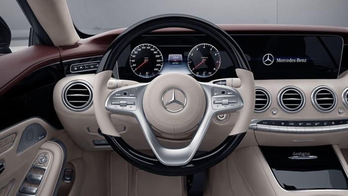 Mercedes-Benz S-Class Cabriolet 2020 Interior 003