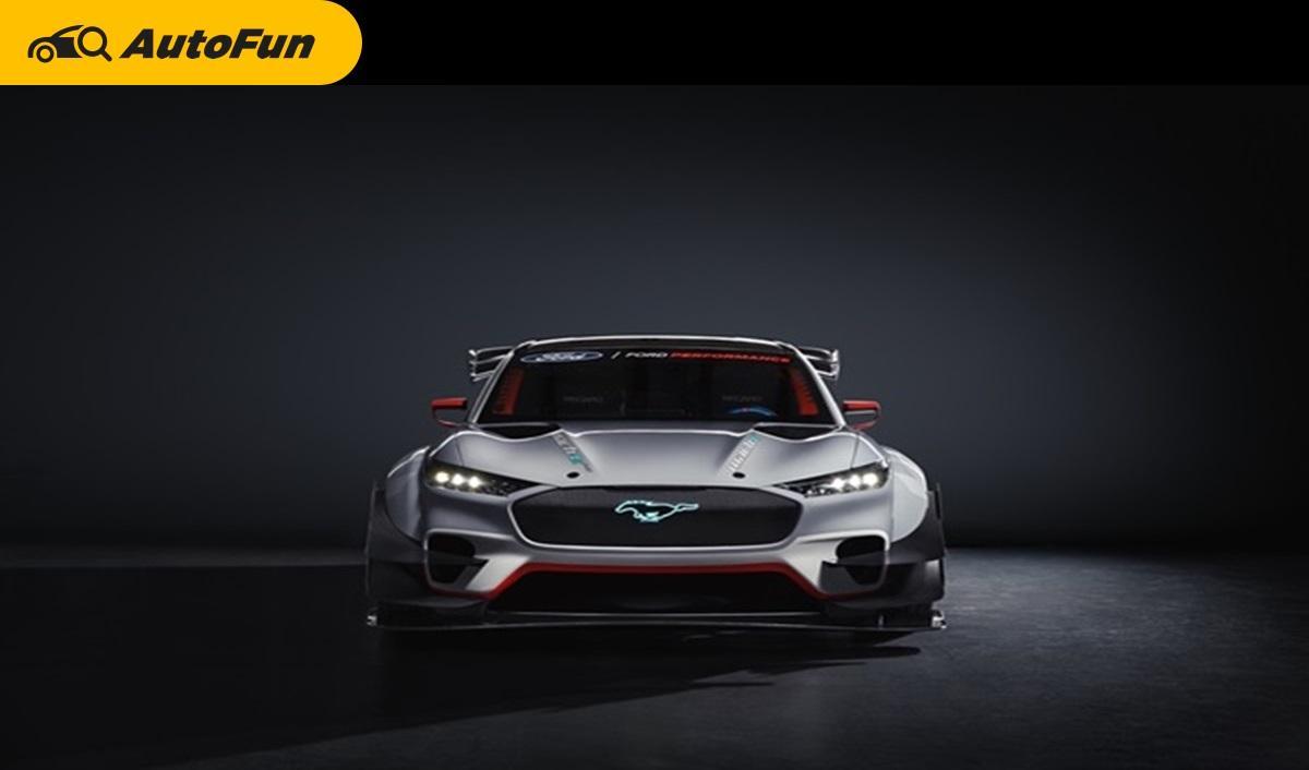 Ford Mustang Mach-E 1400 Prototype รถยนต์ไฟฟ้าที่จะทำให้การแข่งและการดริฟท์ สนุกยิ่งขึ้น 01