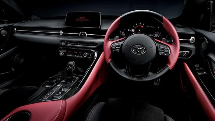Toyota GR-Supra 2020 Interior 001