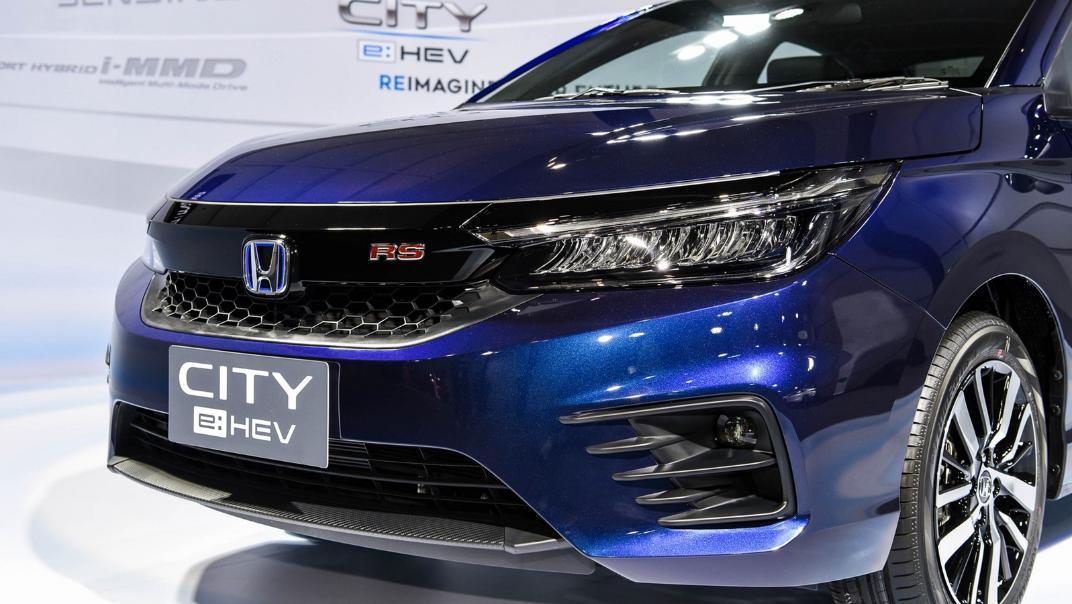2021 Honda City e:HEV RS Exterior 054