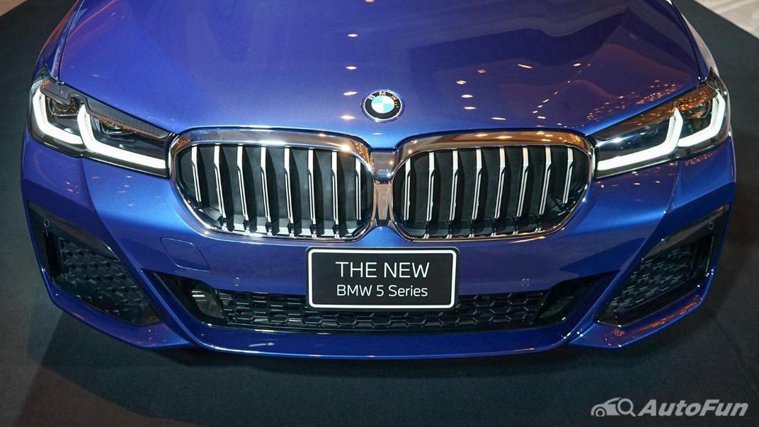 2021 BMW 5 Series Sedan 520d M Sport Exterior 008