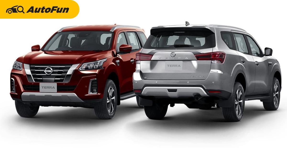 2021 Nissan Terra เทียบราคารุ่นล่าง/รุ่นกลาง ต่างกัน 250,000 บาท ได้ออพชั่นแค่นี้ จะถูกใจไหม? 01